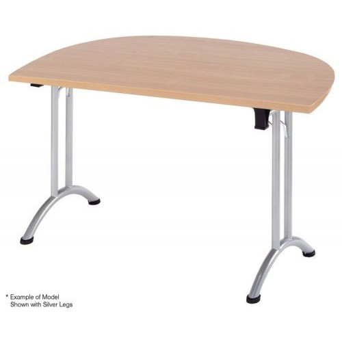 Union D-End Folding Table
